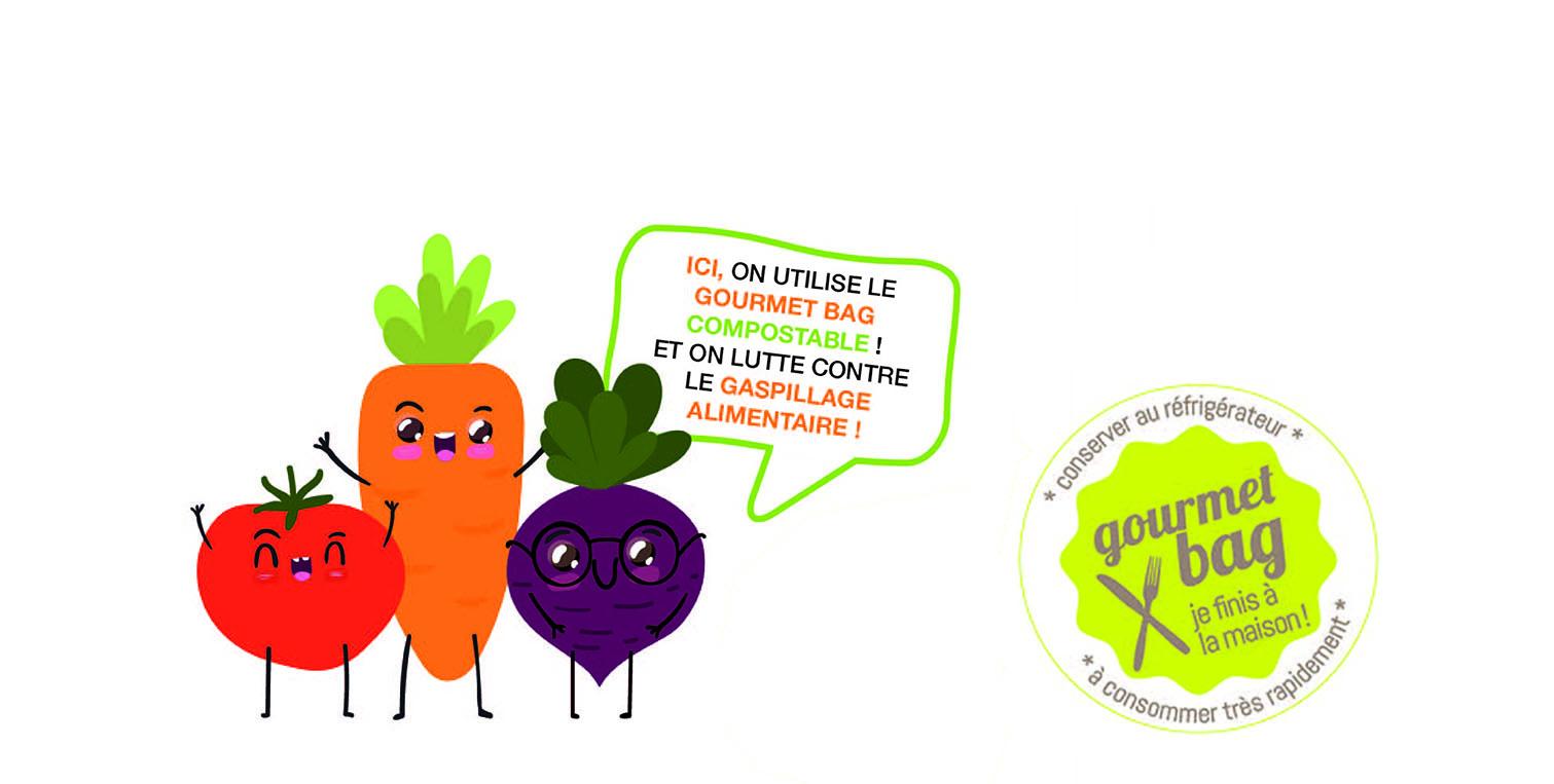 Ami Gourmet Le BagUn Anti GaspiSirtomad BerodCxW