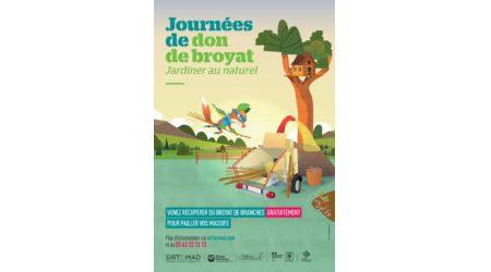 Affiche Déchetterie Don De Broyat 80x120v2